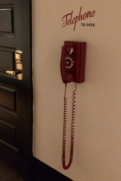 TELEPHONE TO DESK